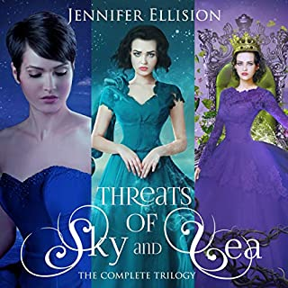 Threats of Sea and Sky: The Complete Trilogy     Elemental Epics Series Collections, Book 1              Written by:                                                                                                                                 Jennifer Ellision                               Narrated by:                                                                                                                                 Jeanie Talbot                      Length: 27 hrs and 1 min     Not rated yet     Overall 0.0