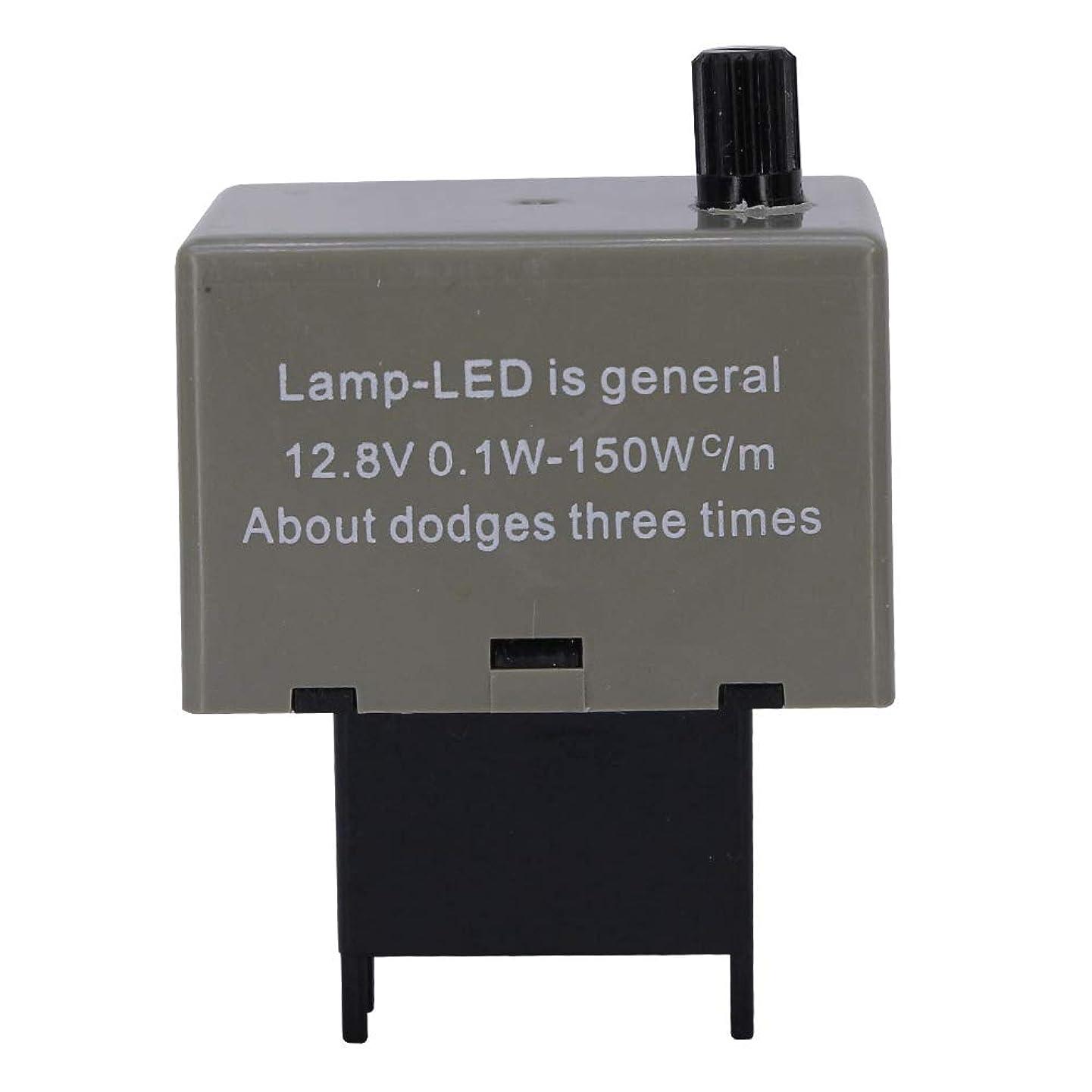 HUIQIAODS 8-Pin CF18 Flashing Speed Adjustable Electronic LED Flasher Assy Relay For Lexus Scion Toyota LED Turn Signal Light Bulbs Hyper Flashing (CF18 Adjustable)