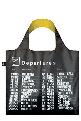 LOQI Airport Einkaufstasche / Reisetasche Reise-Henkeltasche, 50 cm, Arrivals