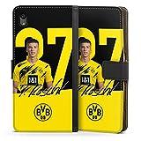 Etui Compatible avec Sony Xperia Z5 Etui Folio Etui magnetique Borussia Dortmund BVB Bundesliga