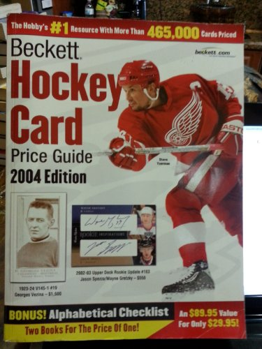 Beckett Hockey Card Price Guide and Alphabetical Checklist 2004 Edition