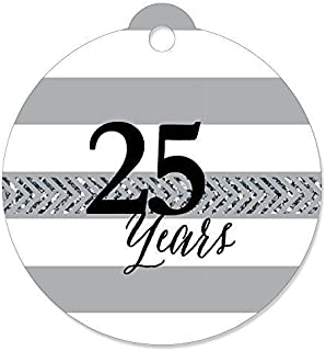 We Still Do - 25th Wedding Anniversary - Party Favor Gift Tags (Set of 20)