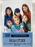 DREAMCATCHER ドリームキャッチャー グッズ / フォト メッセージカード 56枚 (ミニ ポストカード 56枚) セット - Photo Message Card 56pcs (Mini Post Card 56pcs) [TradePlace K-POP 韓国製]