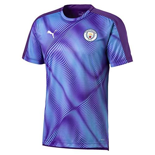 PUMA Mens Manchester City Licensed Stadium Jersey X-Large, Tillandsia Purple/Team Light Blue