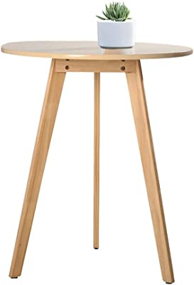 Coffee Table Sofa Side Table Nordic Solid Wood Fashion Simple Round Modern Small Coffee Table