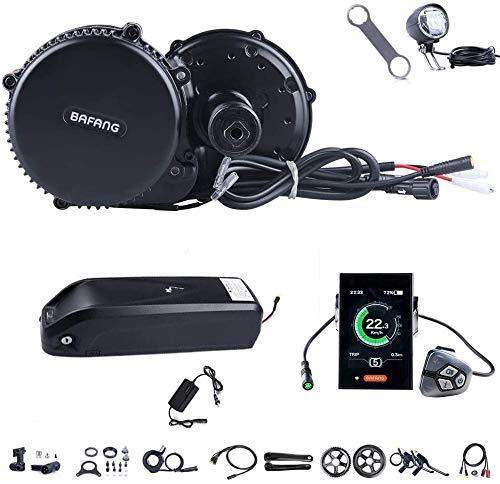 Bafang BBS02B 36V 500W Ebike Motor with LCD Display 8fun/Bafang Mid Drive Electric Bike Conversion Kits