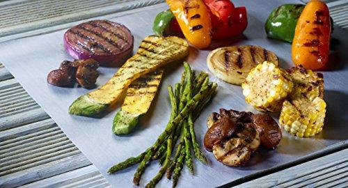 COOKINA Cuisine & ParchAluminum Lot de feuilles de cuisson antiadhésives - 7