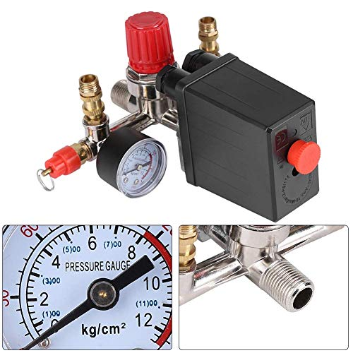 Presostato Compresor Aire Regulador Compresor Aire Conjunto De Válvula Compresor Accesorio Compresor De Aire...