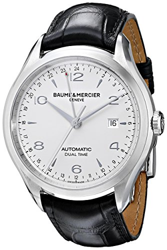 Baume & Mercier Clifton / orologio uomo / quadrante argentato finitura...