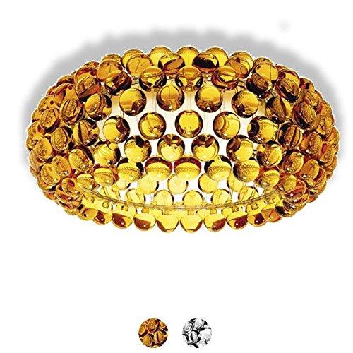Foscarini Deckenleuchte Caboche 1 Licht R7s Ø 50 cm Giallo Oro