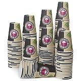 200 Vasos Desechables de Café Para Llevar - Vasos Carton 240 ml para...