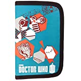 Doctor Who Filled Pencil Case - Turquoise