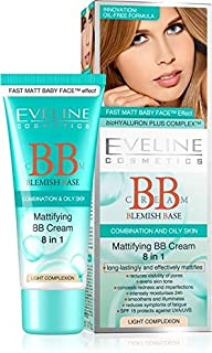Eveline Mattifying BB Cream 8 in 1 for Light Complexion