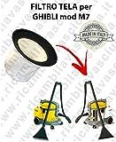 Filter Leinwand für Staubsauger Ghibli Typ M7