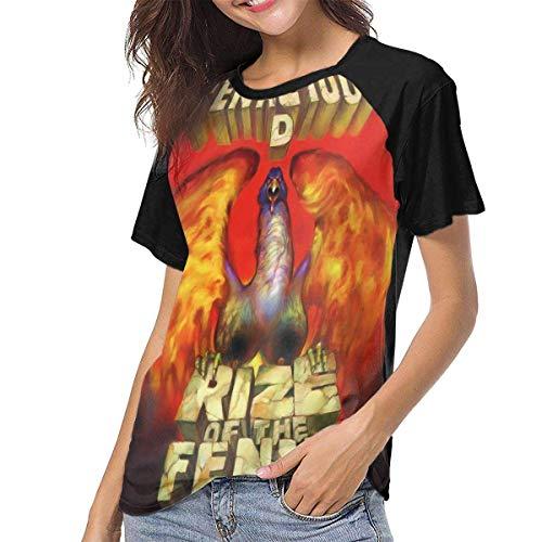 Tenacious D Rize of The Fenix Music Band Woman Fashionable Kurzarm-Shirt Print T-Shirt Shirt