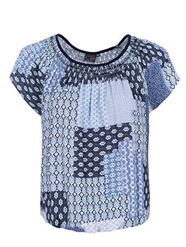 s`questo Bluse 1/2, blau(dunkelblau), Gr. 40