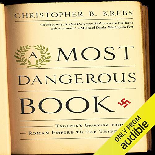 A Most Dangerous Book audiobook cover art