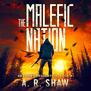 The Malefic Nation audiobook cover art