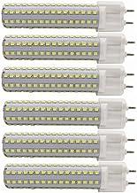 LED Lamp 6-Pack,15W G12 LED Light Bulbs, G12 Base Halogen Flood Light 150W Replacement Corn Light Bulb 360° Flood Lamp for...
