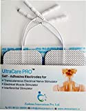 UltraCare PRO Self Adhesive Electrode Pads for EMS, TENS, IFT and Pulse Massagers