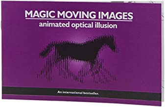 Hdierhind Thicker Version Magic Moving Images Books Magic Tricks Props Toys Animated Optical Illusions Kids Gifts