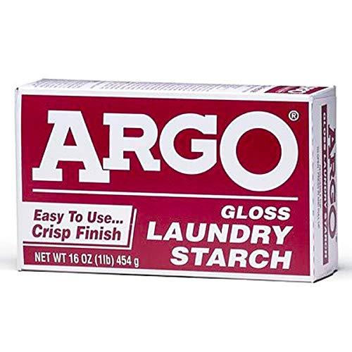 ARGO - Amido per bucato lucido, 460 ml, confezione da 6