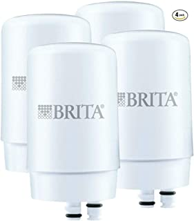 Brita On Tap Replacement Filters, 4-Pack, White by Brita
