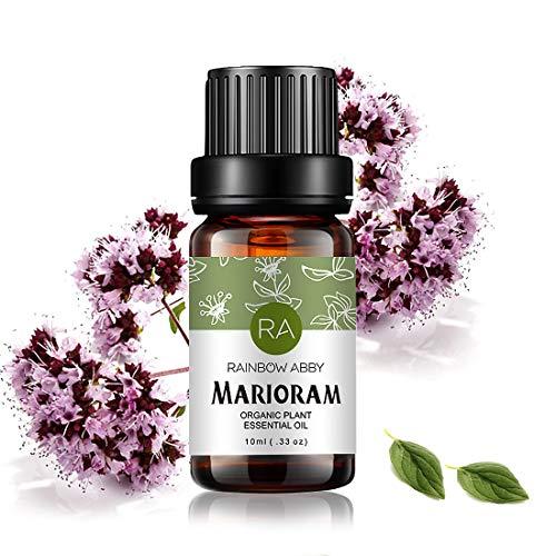 Majoran Ätherisches Öl 100% Reines Ätherisches Öl Aus Organischer Pflanze Natrual Flower Ätherisches Öl für Diffusor Nachricht Hautpflege Schlaf - 10ML