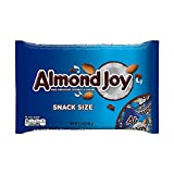 Almond Joy Candy Bars, Snack Size, 11.3-Ounce Bag (Pack of 24)