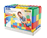 Polesie Polesie37510 Building Brick (45-Piece, 2X-Large)