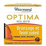 VITARMONYL - Optima Solaire Bronzage Et Teint Soleil – Prépare, Active, Prolonge le Bronzage – 60 Capsules