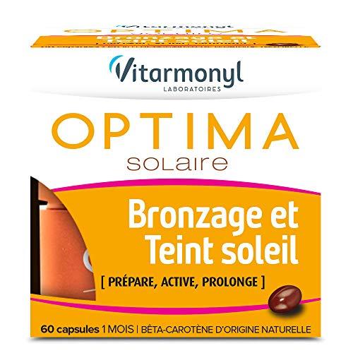 professionnel comparateur VITARMONIL – Soleil pour les bronzages et les tons de peau Optima Solaire – Prépare, rajeunit et allonge les bronzages – 60… choix