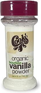 ground vanilla powder