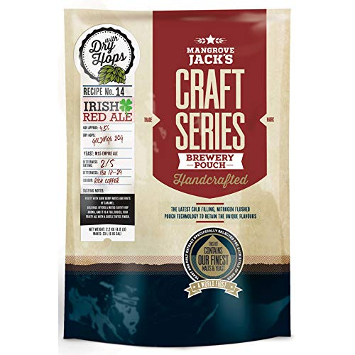 Mangrove Jack's Craft Series Irish Red Ale - Kit de cerveza