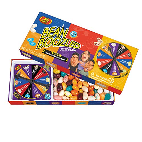 Jelly Belly BeanBoozled Jelly Beans Spinner Gift Box, 5th...