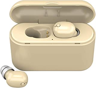 JKoYu Portable Earbuds & Headphones Earphones Accessories Z3X TWS Wireless Bluetooth 5.0 In-ear Earphone Stereo Earbuds with Charge Box - Beige
