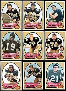 1970 Topps New Orleans Saints Team Set New Orleans Saints (Set) NM+ Saints