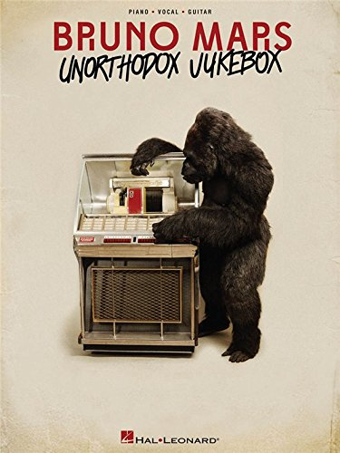 Bruno Mars: Unorthodox Jukebox (PVG). Partitions pour Piano, Chant et Guitare