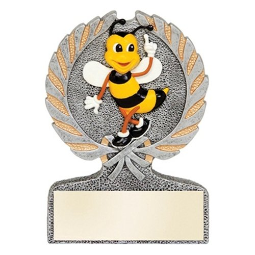 Spelling Bee Centurion Trophy with 3 lines of custom text