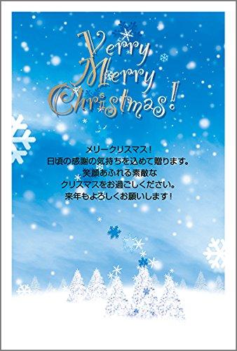 【10枚入り】クリスマスカード はがき XS-70