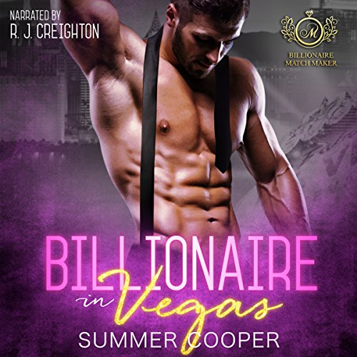 Billionaire in Vegas audiobook cover art