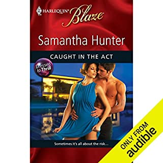 Caught in the Act  audiobook cover art
