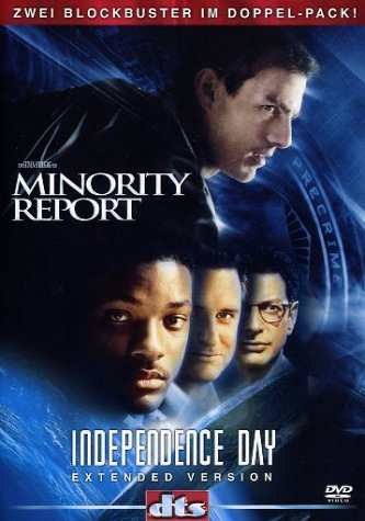 Minority Report / Independence Day [Alemania] [DVD]