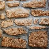 Fablon - Pellicola Adesiva, Effetto Muro di Pietre, 45cm x 15m...