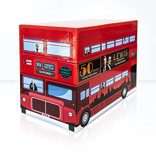 Lewis - Der Oxford Krimi - Gesamtbox (Limitierte Sonderedition im Bus-Look)
