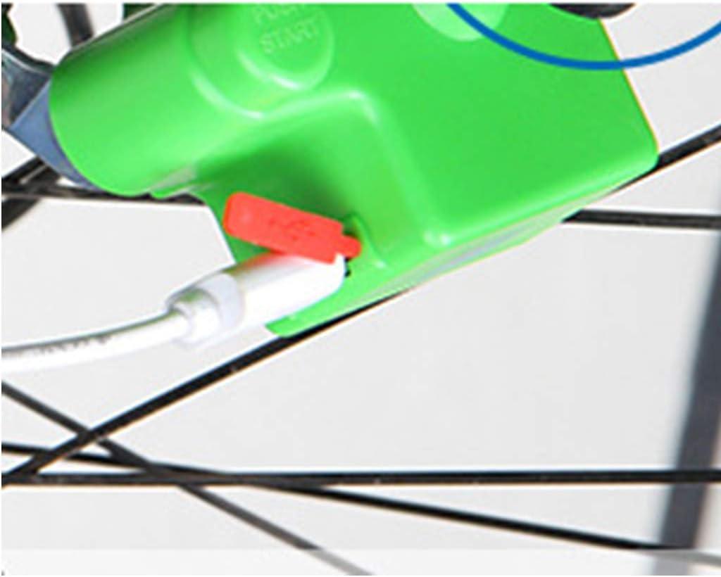 NON Cargador Dual del Interfaz USB del D/ínamo del Generador de La Bicicleta para El Tel/éfono Inteligente Banco del Poder