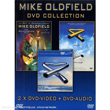Mike Oldfield : The Millenium Bell, Live à Berlin / Mike Oldfield : Tubular Bells II et III - Coffret 2 DVD [Inclus le DVD audio Tubular Bells 2003 [(DVD+DVD AUDIO)]
