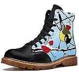 Bennigiry Carbonero de Invierno Botas de Invierno Zapatos clásicos de Lona de caña Alta para Mujer