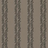 York Wallcoverings SV2710 Waverly Stripes Turning Tides Wallpaper' Taupe/Dark Taupe