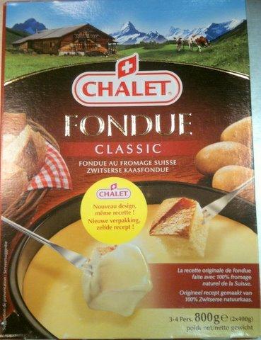 Chalet kaasfondue 800 g (2 x 400 g)